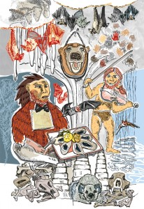 Ragout vom Mammut Höhle